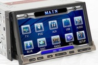 "7"" 2din car DVD player,car GPS/car bluetooth"