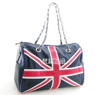 FREE SHIPPING!  Tote bag, ladies' shoulder bag, RANSON 413 Navy blue style fashion handbag