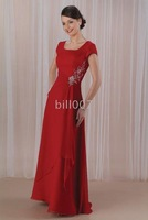 A-Line Floor- Length Mother of the Bride Dresses 2009 Style(MWYN045) Red