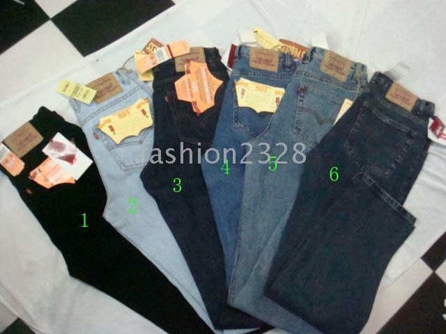 cheap men's jeans,low price designer trousers Size 30/32/34/36/38/40(10ps)(China (Mainland))