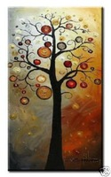 High Quality Modern Abstract Oil Painting on Canvas Art 8102 picture on wall