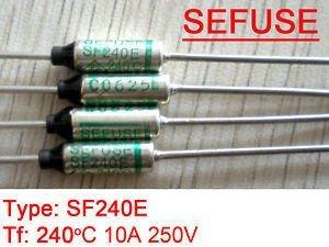 5 unids TF 240C Microtemp fusible térmico de corte térmico SF240E