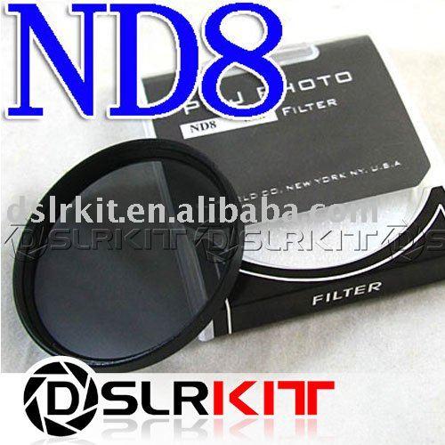 TIANYA 37mm 37 mm Neutral Density ND 8 ND8 Filter(China (Mainland))