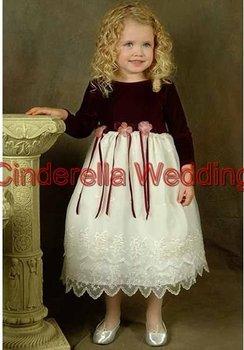 Children's dress  Flower girl dress   girl's gown & Children's DressHT01215