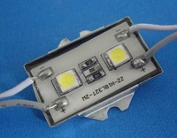 Waterproof SMD LED Module, 2pcs 5050 SMD LED, white color;