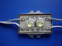 Waterproof super flux LED Module, 2pcs paranha LED,white color;