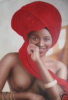 Original Realism Nude girl oil Painting art on canvas