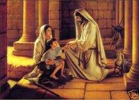 "Handicrafts Art Repro oil painting:""Jesus"" 24x36 inch"