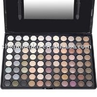 Pro 88 Colors EyeShadow Palette Cosmetics Makeup Warm Colors 01 free shipping