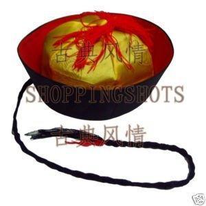 chinese Beijing opera hat cap chapeau headgear 085103 g