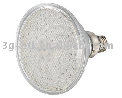 50pcs/lot: 5mm LED PAR38 LED spotlight bulbs different LEDs available, white color or some other color(Hong Kong)