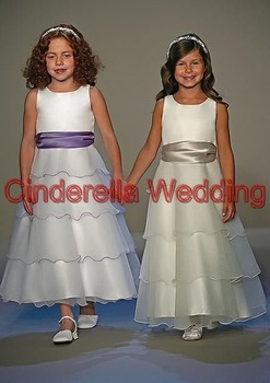 Children's dress  Flower girl dress   girl's gown & Children's DressHT01239