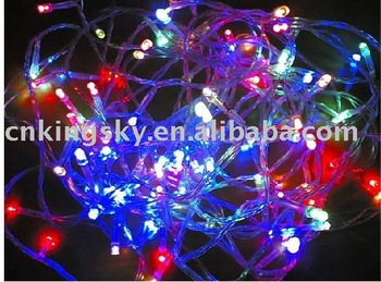 100 Flash Color LED 10M String Fairy Colorful Lights party Xmas