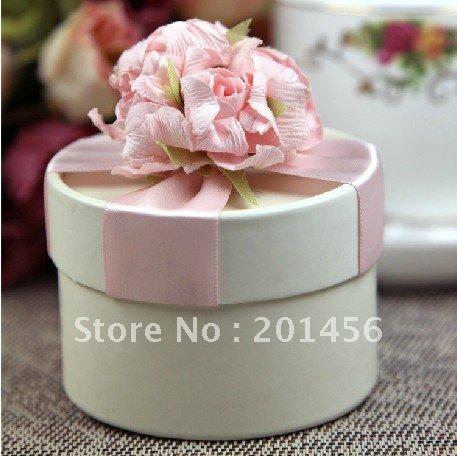 Wedding Favors Romantic ivory Luxury gift box candy box A805