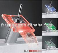 DHL Free shipping-Led bathtub faucet