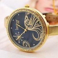 wholesale fashion watch/brand watch/wrist watch LuscigusGirlsN9274-modern girl watch