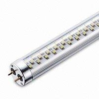 Transparent SMD LED T8 Tubes;90-240Vac input;1500mm long;360pcs 3528 SMD LED;24W;1800lm;DayLight(6000-7000K)