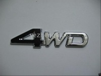 - Wholesale TOYOTA 4WD Emblem 60pcs/lot badge