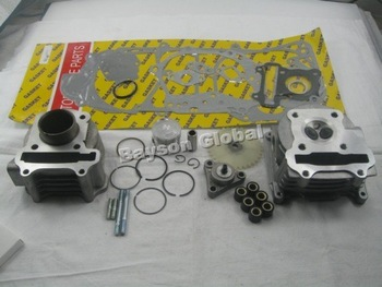 scooter parts 4 Stroke 139QMB 50cc Engine Kit @50026+free shipping