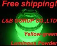 Photoluminescent pigment/luminescent powder LBG-HB + free sample & Free shipping