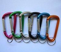 100pcs/lot /Colorful Aluminum key ring  Bi076