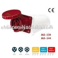 CEE Sockets /Industrial Sockets / Industrial plugs & sockets 63A CE certificate