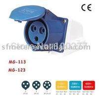 CEE Sockets /Industrial Sockets / Industrial plugs & sockets 32A CE certificate