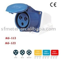Sockets /Industrial Sockets / Industrial plugs & sockets 16A CE certificate