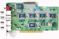 Free Shipping Cheapest 4chs KODICOM DVR Card: KMC-4400 (TV-OUT)