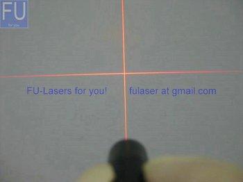 FU-laser module diode laser module-cross line
