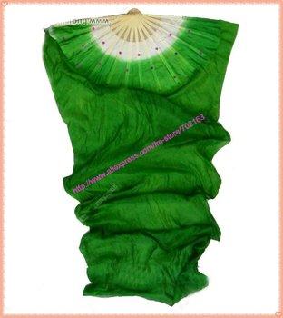 30pcs/lot free shipping brand new dance fan veil/belly dance fan veil/silk fan veil
