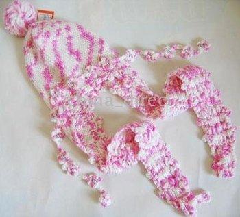 Beanie Crochet Bonnet tamhat Hats 21pcs/lot LOTS handmade girls