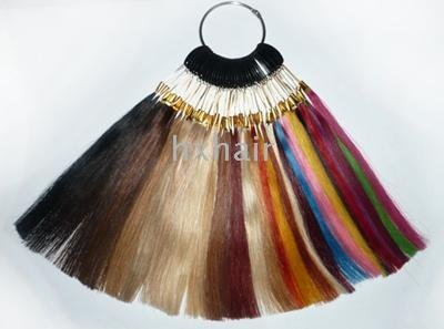 per lot ! Color ring ! 100% human hair ! 36 colors ! Hair extension tools ! 10 items(China (Mainland))