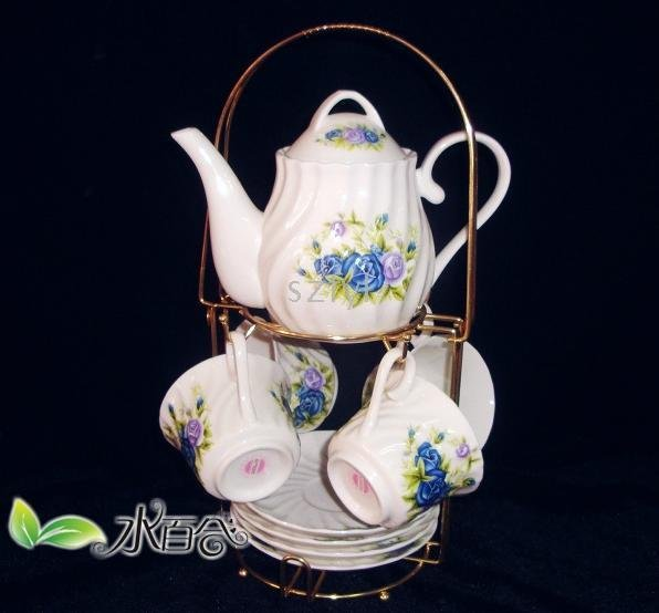 coffee set / 13 sets / Valentine Rose Jingdezhen / ceramic(China (Mainland))