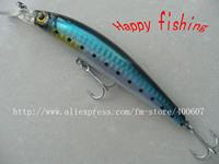 Terminator Minnow Fishing Lure M125F  with High Quality 2 Hooks jerk lure hard  fishing bait plastic  bait
