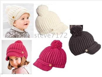 hats Fashionable hat toddler cap beanie kids' caps baby hats Toddler caps ST-552A Hot Baby kitting
