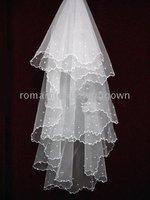 wedding fashion veil014# NEW!!!!white Waves lace New!!