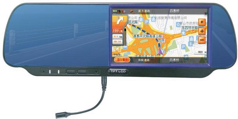 4.8 inch rearview monitor with GPS Navigation Function(China (Mainland))
