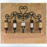 Metal Wine Holder Home Furniture Metal Wall Decor Iron Wall Decor Metal Wine Racks