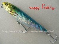 Plastic Pencil Fishing Lure(Pe105F) fishing bait plastic   hard bait jerk lure Surface