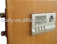 +Gift&Free Shipping! ! biometric door lock fingerprint lock LCD fingerprint ID alarm function
