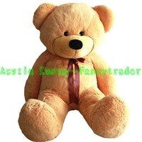 Giant Teddy Bear LIGHT BROWN 47 INCHES (120cm)