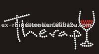 Wholesale Korean Quality Custom Rhinestone Transfers Free Shipping