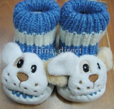 sapatos arrancar 22pairs / muito infantil Sapatinhos de bebê Meias Meias Sapatos(China (Mainland))