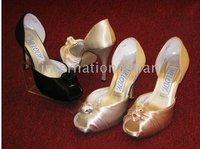 1 pair/lot Elegant Custom-made Bridal New Fashion Design Wedding/Party/Evening Shoes A3215