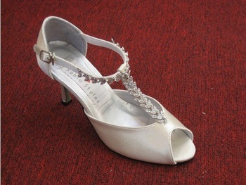 1 pair/lot Custom-made Bridal New Design Evening/Wedding/Party Shoes A3233