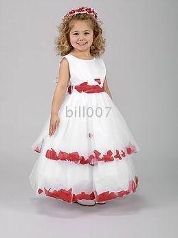 2009 Style SKU510190 Ball Gown Scoop FloorLength Flower Girl Dresses