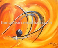 Handmade Abstract Decorative acrylic Painting on canvas,freeshipping
