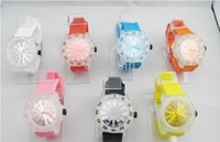 wholesale fashio watch hot Colorful Fashion jelly watch 10pc/lot 2010 fashion