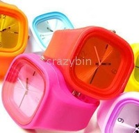 wholesale fashion watch/wirst watch Rainbow Candy Table 10pc/lot 2010 fashion hot watches
